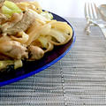 牡蠣と春キャベツのパスタ