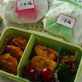 【高校生男子お弁当】自然解凍の冷凍食品使ってみました。