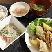 半端野菜で春巻き&大失恋で大騒ぎ(;^_^A