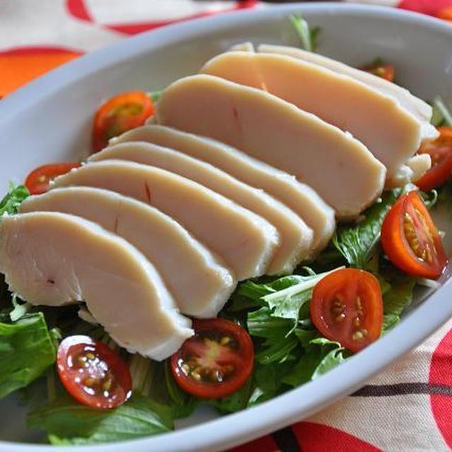【節約ごはん】 鶏ハムサラダ