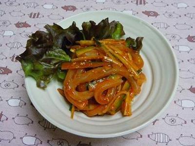 ☆簡単韓国料理♪イカフェ☆