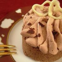 バレンタインのロールケーキ