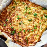 長芋キャベツのオーブン焼き