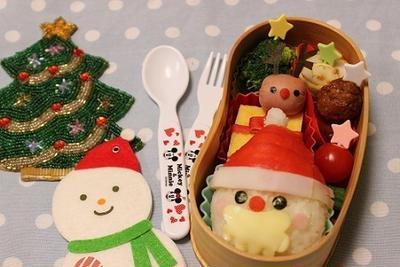 【クリスマス】キャラ弁簡単おすすめレシピ!サンタ・トナカイ・雪だるまの作り方のコツ!の画像3