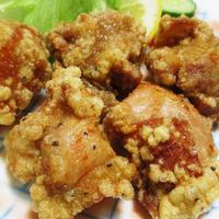 鶏の唐揚げ 溶き卵衣<オールスパイス風味>