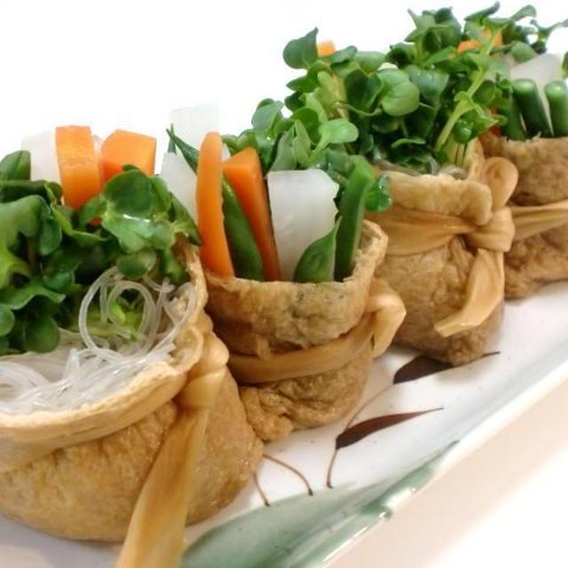 サラダ風いなり寿司