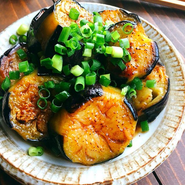 ♡野菜がごちそう♡なすのめんつゆバター焼き♡【#簡単#時短#節約#副菜#お弁当】