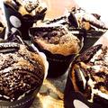 HM*ブラックココアdeオレオカップケーキ