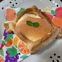 フロリダグレープフルーツのカスタードクリームパイ♪