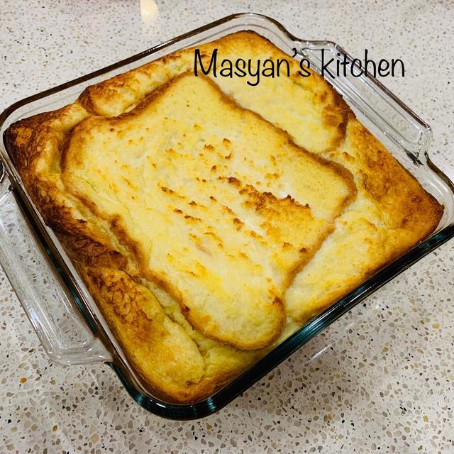 牛乳の大量消費に オーブンで焼くフレンチトースト