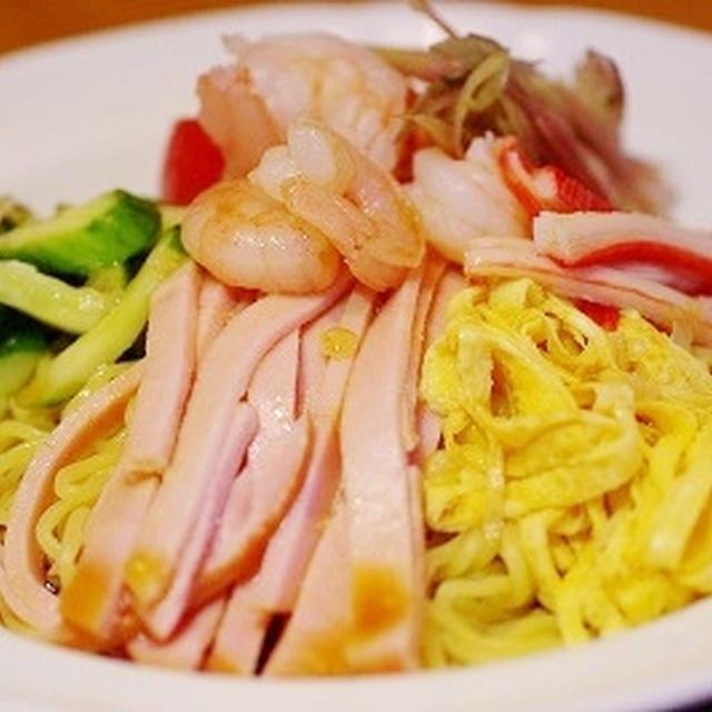 塩麹野菜入り冷麺