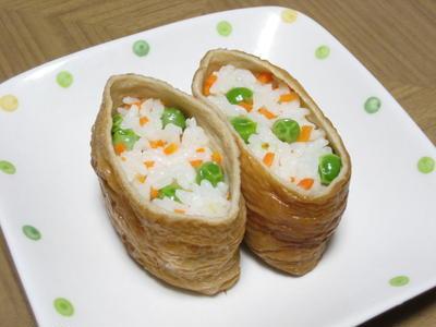 板麩でいなり寿司✽きつねうどん✽炊いたん