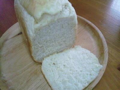 残りご飯で食パン