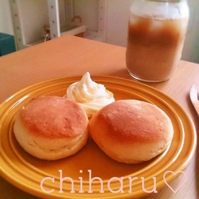 【300投稿記念✨】【再現】スタバのバターミルクビスケット♡