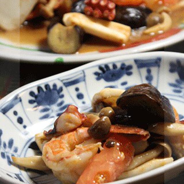 海老・いか・タコ in 夏野菜