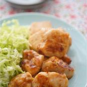 3ステップで簡単!鶏むね肉の生姜焼き