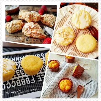 ♡ホワイトデーのお菓子4選♡【#レモンマフィン#スコーン#ホワイトチョコマフィン】