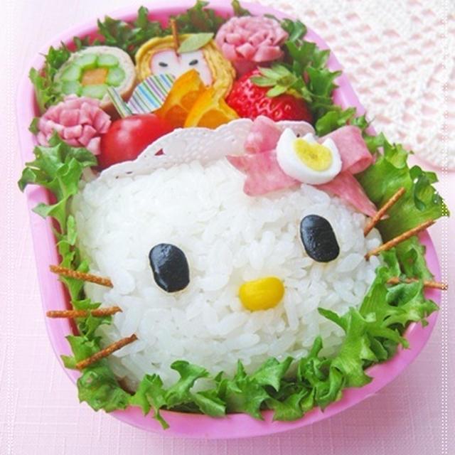 *キティちゃん弁当とアサリの疑問*