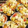■菜園発【ベーコンと瓢箪カボチャメインのマヨチー焼き】お気に入りの一手です♪