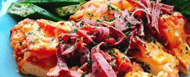 満足度が高いのにヘルシー!?「鶏むね肉」のピザ風レシピ