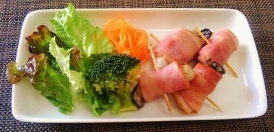 ジューシー牡蠣のベーコン巻き♪~♪