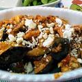 イーストウェストトーナメント ~ 茄子とイワシのオリーブオイル缶詰のマリナーラソース焼き