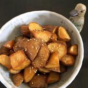 ホクホク♪ 小さいジャガイモの甘辛煮