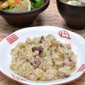 活用術~蒸し焼き豚のラードで炒飯。たまり漬け豚ごまだれつけ麺。