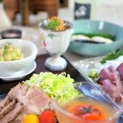 絶品タラゴンさんの生ハムアボペースト と 絶品美豚肩ロースの紅茶煮