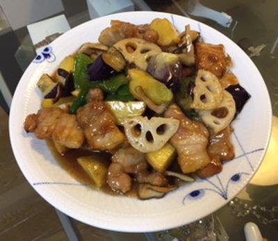 Sweet and Sour Pork(Subuta),Ohtoya-style black vinegar sauce☆大戸屋風♪黒酢あんの酢豚☆
