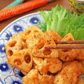 簡単お弁当おかず♪ささみとレンコンの豆板醤マヨ炒め!連載