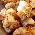 チーズ醤油風味の揚げ餅