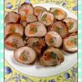 鶏肉八幡巻き(野菜巻)