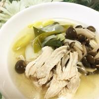 白だしで 簡単☆鶏胸肉の煮物