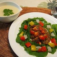 ミラノ風カツレツ & 蕪のホワイトスープ