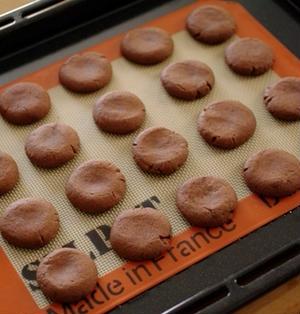 超簡単本格チョコクッキー☆バニラで香り高く・型抜き不要・バレンタインにも