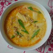 レッドカレー温麺