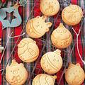 クリスマスギフトにピッタリ♪まんまるクリスマススタンプクッキー