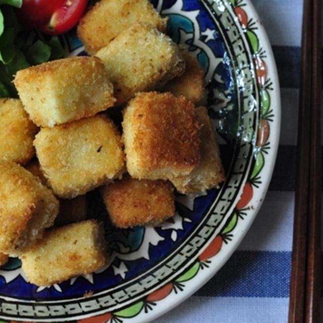 高野豆腐のスパイス衣のひとくちカツ