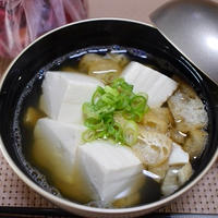 豆腐と薄揚げとしめじの味噌汁 リピ