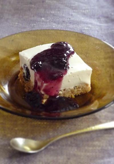 オメガ3オイル使用のヨーグルトケーキ