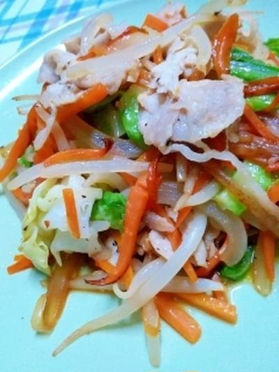 これ一品で、ご飯がたっぷり食べれちゃう肉野菜炒め / こんな時は・・・