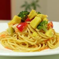 早茹でパスタで時短『サラダスパゲティ』&レシピブログmagazine『創刊号のお知らせ』♪♪