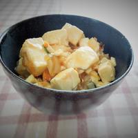 ◇本格中華の香り☆ゆず豆腐の中華風うま煮