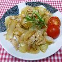 レモンペッパーde豚肉と玉ねぎの炒め物☆
