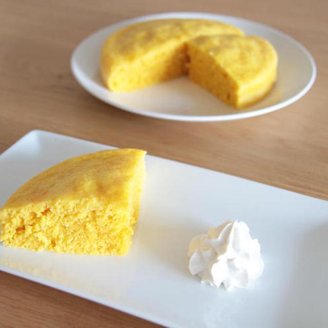 人参の蒸しケーキの作り方の巻