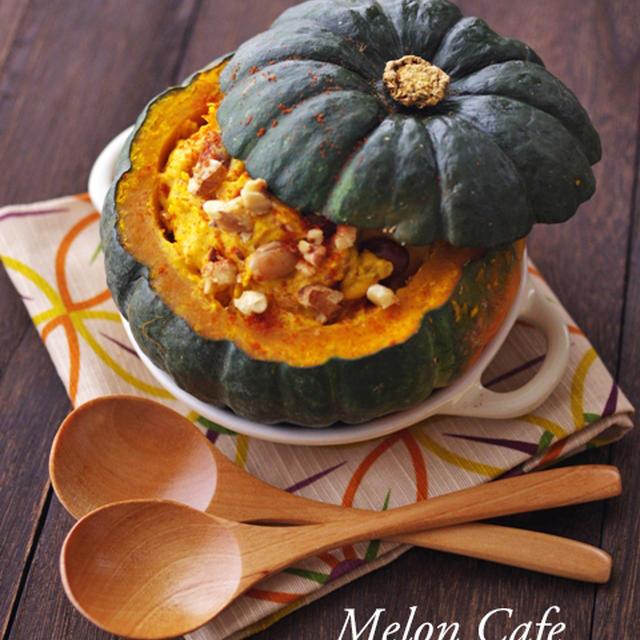 掲載のお知らせ☆michill「秋の味覚で簡単!まるごとカボチャのクリームサラダとモンブラン」