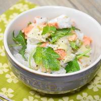【千葉県産コシヒカリ】鮭とカマンベールのご飯
