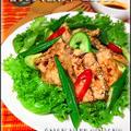クミン薫る秋刀魚とズッキーニの南蛮サラダ