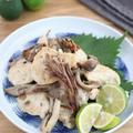 すだち香る♪鶏むね肉ときのこのうま塩炒め by kaana57さん